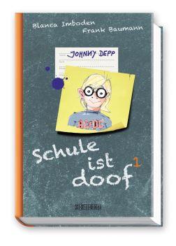 Schule ist doof - Johnny Depp dummy_3D